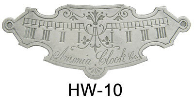 New Beat Plate for Ansonia, Vienna, & Regulator Clocks - Choose from 5 Styles!