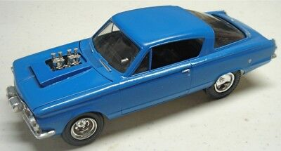 Amt 1965 Plymouth Barracuda - Older Build Up Gasser/fx Drag Style - 1/25 Cool!!!