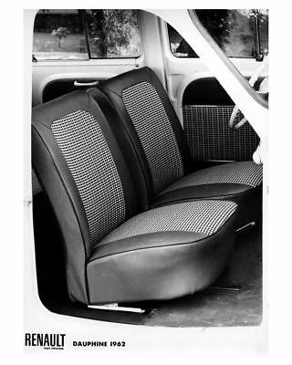 1962 Renault Dauphine Interior Factory Photo ca1842