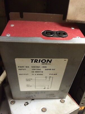 Trion High Voltage Power Supply 340102-026 *used*