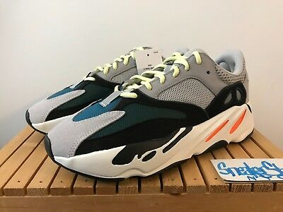 bd987904d 2018 Adidas Yeezy Boost 700 Wave Runner Solid Grey Chunky Kanye West Mens  US 8