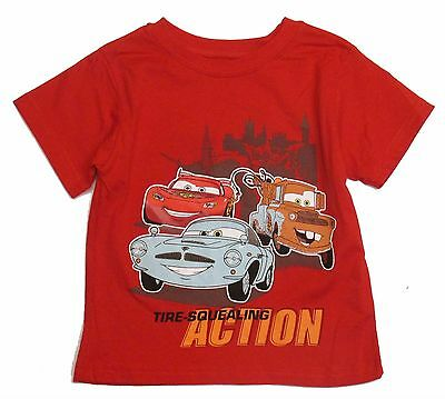 Disney Cars Toddler Boys Baby Graphic t Shirt Short Sleeve Size 18 Months NWt