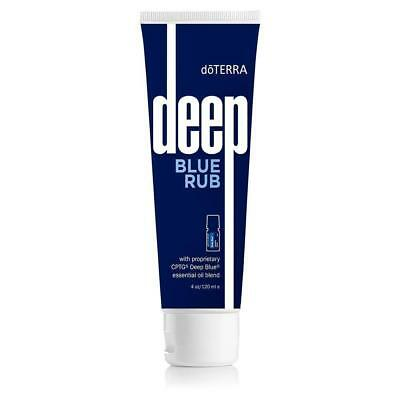 BRAND NEW doTERRA Deep Blue Rub 4 oz New Sealed  FREE SHIPPING EXP: 2021.01