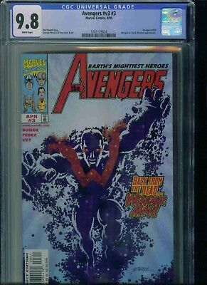 Avengers#v3#3 Cgc 9.8 Brand New Just Got In!
