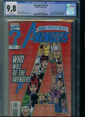 Avengers#v3#4 Cgc 9.8 Brand New Just Got In!