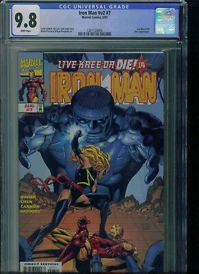 Iron Man#v2#7 Cgc 9.8 Brand New Just Got In!