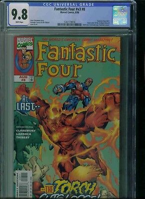 Fantastic Four#v3#8 Cgc 9.8 Brand New Just Got In!