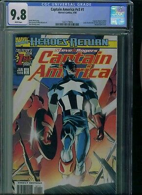 Captain America#v3#1 Cgc 9.8 Brand New Just Got In!