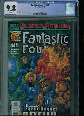 Fantastic Four#v3#1 Cgc 9.8 Brand New Just Got In!