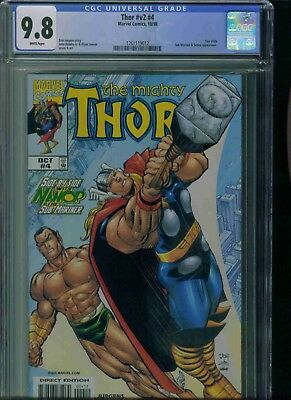 Thor#v2#4  Cgc 9.8 Brand New Just Got In!