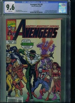 Avengers#v3#8 Cgc 9.6 Brand New Just Got In!