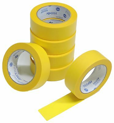 """4 QUALITY USA MADE 1.5"""" Green Painters Masking Trim Edge Tape 180' 60 yd roll"""