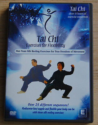 TAI CHI Exercises for Flexibility - Hun Yuan Silk Reeling Exercises  DVD