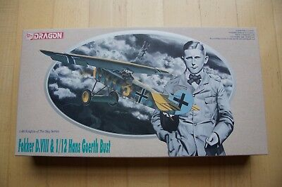 MB22 Fokker D.VIII - DML Knights of The Sky Series + Büste Goerth - Maßstab 1:48