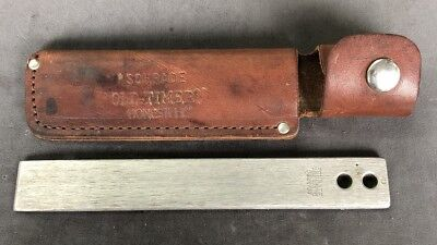 Vintage Schrade Made in USA Old Timer HS-1 Honesteel #16 Knife  Sharpener