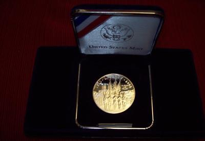 2002 W Us Miliary Academy Commemorative Proof Silver Dollar Coin $1 Boxes & Coa