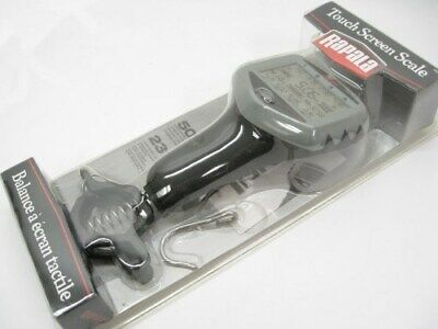 Rapala RTDS-50 50 Lb. Pound Fish Fishing Touch Screen Angler Model Scale w/ Hook