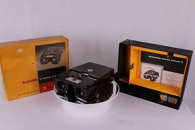 Kodak Kodaslide Stereo Viewer II In Excellent Condition with Box - Works