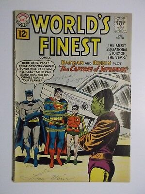 World's Finest Comics # 122 -  1961  Superman/batman