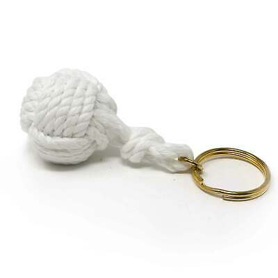 Nautical Braided Ball Rope Keychain Five Oceans - BC 3039