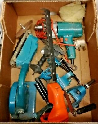 Black and Decker drill with 5 attachments