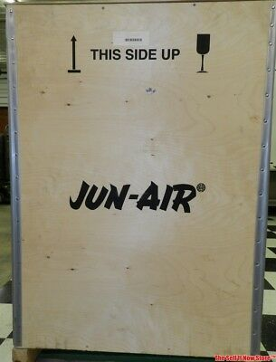 New Jun-Air OF1202-40M Oil-less Rocking Piston Compressor 120 PSI 40 Liter 230V