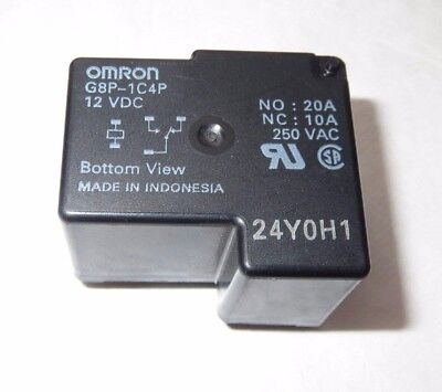 Omron G8P-1C4P 12V DC 20A 250VAC or G8P-1C4P-12VDC Ships from South Carolina