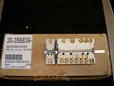 Hobart HRW220 Rotisserie Switch Main ON OFF part# 00-356839
