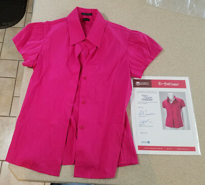 Robin Cobie Smulders COA Screen Used Wardrobe Shirt From How I Met Your Mother