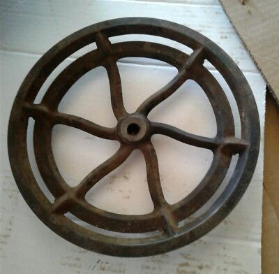 Antique Singer 29-4 Treadle Sewing Machine Base FLY WHEEL, Good Condition