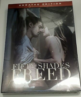 Fifty Shades Freed Unrated Version  Dvd (2018) Brand New Sealed Bargain Price