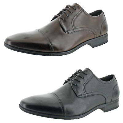 Kenneth Cole Reaction Men s DETER-MIN-ED Leather Lace-Up Dress Oxford Shoes e2fa6e50937