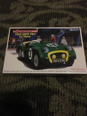 Gunze Sangyo Triumph TR2 Le Mans 1/24 Sealed Box