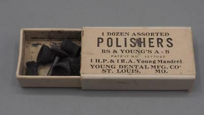 Antique BS & Youngs A-B Polishers St Louis Missouri Dentist Supply