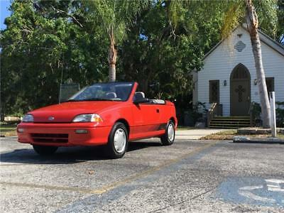 1992 Geo Metro -- 1992 Geo Metro LSi Convertible 60K Actual Miles Survivor 1-Owner RARE Original