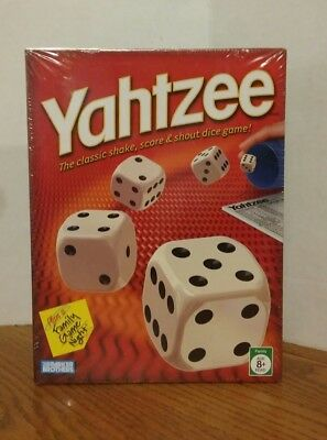 Yahtzee Game Classic with Dice, Shaker & Score Cards Hasbro Gaming New in Box
