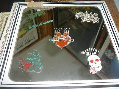 1980S Carnival Mirror/ Multiband Mirror/journey/greatful Dead/acdc