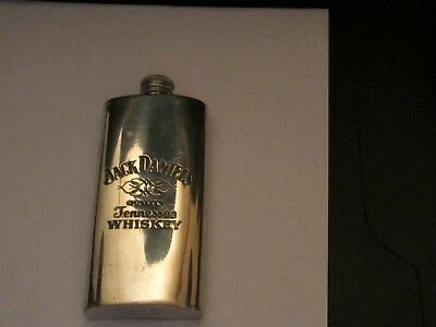 Jack Daniels -Pewter Flask - Made In Uk
