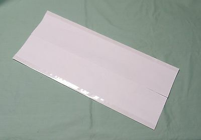 """10 - 9"""" x 19"""" Brodart ARCHIVAL Fold-on Book Jacket Covers - Super Clear Mylar"""
