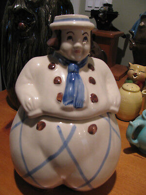 SHAWNEE  DUTCH BOY  Cookie Jar -  MINT