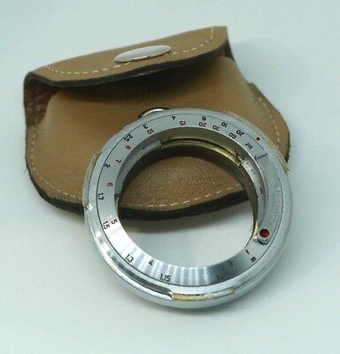 Amedeo Contax rangefinder to Leica M adapter - excellent condition