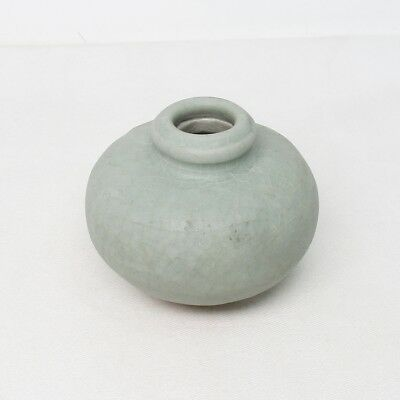 B204: Southeast Asian small vase of old blue porcelain called SUNKOROKU