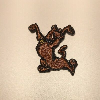 """Scooby-Doo Scooby Shaggy Hanna Barbera Vintage Patch Approx 1.5""""x 1.5"""""""