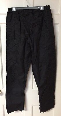 Redhead Black light weight Nylon packable rain pants size S, Outdoor, Camping