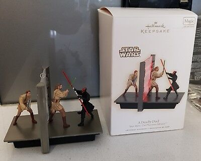 Star Wars The Phantom Menace Hallmark Christmas Decoration