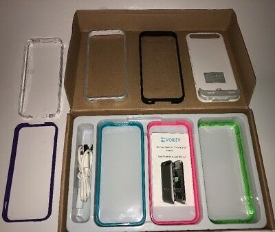 New Old Stock Vority X5S iPhone 5 5s Charging Case Includes 7 Colors