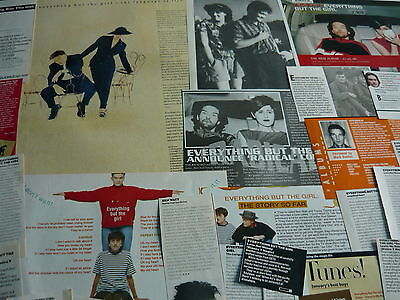 Everything But The Girl - Magazine Cuttings Collection (Ref Xd)