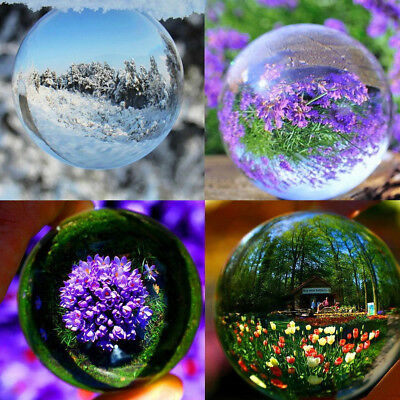 K9 Glass Crystal Paper Weight Magnifying Lens Ball Photo Decor 5/10/12/15cm ❤️