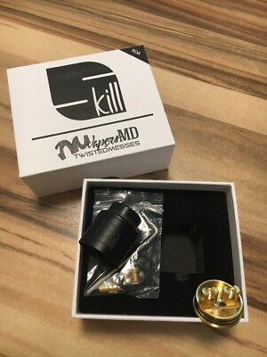 Skill RDA By Twisted Messes 24 MM Verdampfer  !!TOP ANGEBOT!!