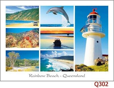 12 Postcards of Australian Lighthouses in Victoria and Queensland